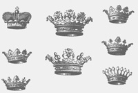 Crowns Photoshop (.PSD) File