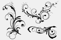 Floral – Swirls PSD File